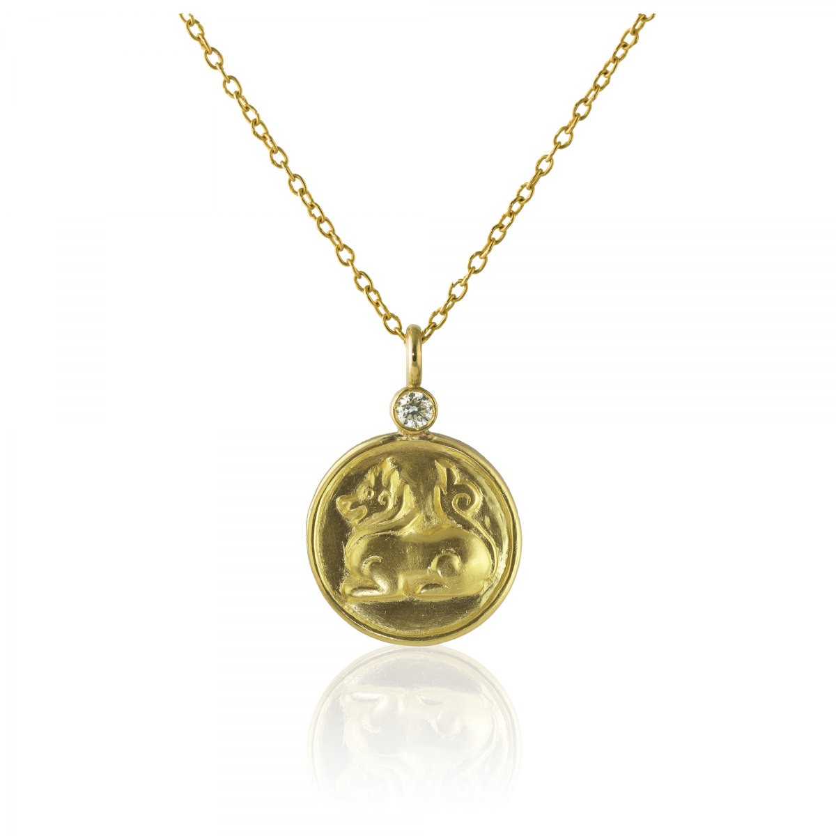 Lion Fancy Pendant