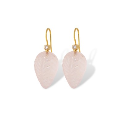 Pink Bud Earrings