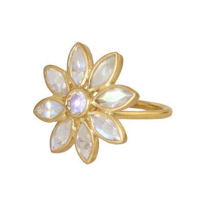 Medium Flower Ring